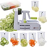 Best Zoodle Makers - Brieftons 7-Blade Spiralizer: Strongest-and-Heaviest Duty Vegetable Spiral Slicer Review