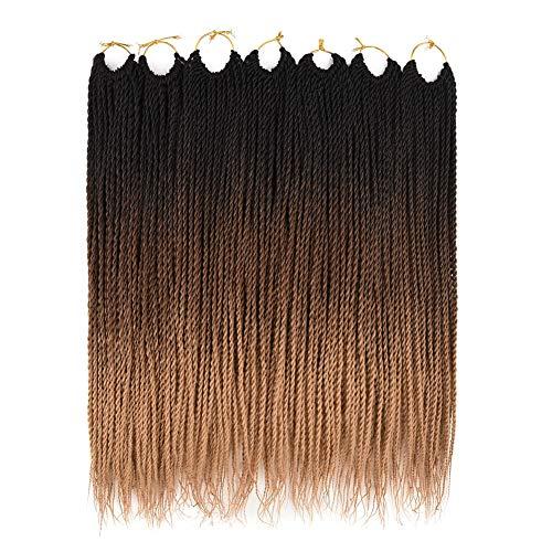 Ailsa 7Packs Crochet Braids Hair,Senegalese Twist Crochet Hair for...