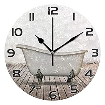 wall clock for bathroom