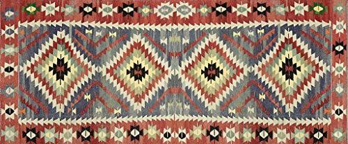VILBER Alfombra Vinilo Kilim Color 01 78X180X0,22 CM