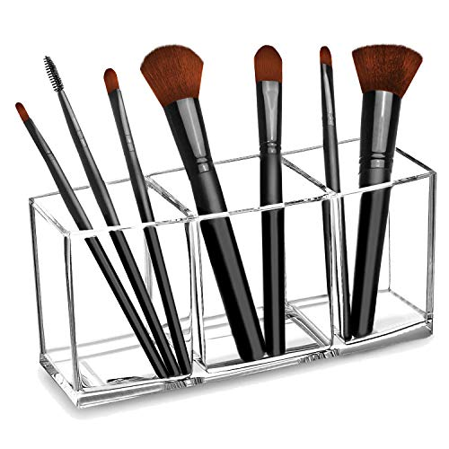 CACASO Clear Makeup Brush Organi...