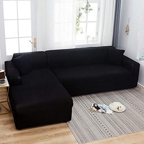 BKHBJ L-vormige hoekbank voor woonkamer Pure strakke wrap Anti-huisdieren All-inclusiveFurniture Slipcover