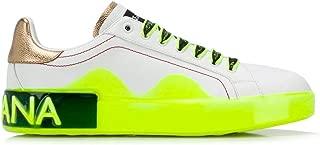 DOLCE E GABBANA Luxury Fashion Womens CK1587AK2368P350 White Sneakers | Fall Winter 19