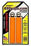 ESI Puños Chunky Color Naranja