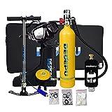 Set di Attrezzatura Subacquea Mini bombola da Sub,Dispositivo di Combinazione per Immersioni Kit...