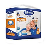 Liberty Premium Adult Diaper Pants Unisex, X-Large 10 Pcs, Waist Size (96 - 165 cms | 38-65 Inches)