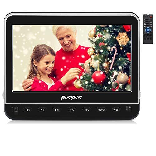 PUMPKIN 10,1 Pouce Lecteur DVD Voiture Ecran d'appui tête pour Enfant Supporte HDMI Input Région Libre USB SD avec Support de Montage