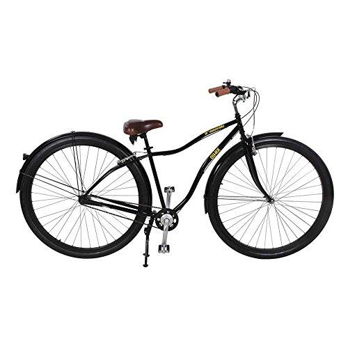 QU-AX Monster Bike 36zoll 3 marchas 36zoll Negro Bicicleta
