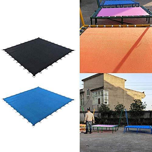 SBDLXY Colchoneta de Salto de trampolín de Repuesto Colchoneta de Salto de trampolín de jardín para Trampolines Cuadrados Cubierta Impermeable Alfombrilla de Salto de trampolín de Malla PP GRU