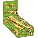 PowerBar Natural Protein Riegel aus Sojacrisps, Erbsenprotein, Erdnüssen und Sojabohnen – Eiweiß-Riegel, Fitness-Riegel, Müsli-Riegel – Vegan – Salty Peanut Crunch (24 x 40g)