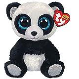 Ty – Beanie Boo's – Peluche de bambú, Modelo Panda, TY36327, Color Negro/Blanco, 15 cm