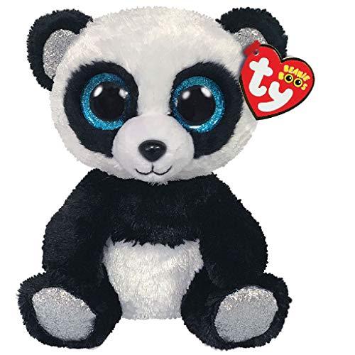 TY Panda Plüsch Schwarz/Weiß One Size, 15 cm