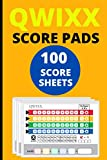 Qwixx Score Sheets: 100 Score Pads for Qwixx, Qwixx Score Cards, Qwixx Game Sheets