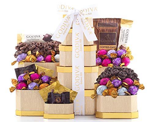 Godiva Chocolate Gift Tower - Free Shipping