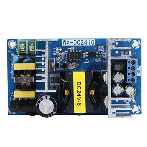 ASHATA DC Stromversorgung Module, 24V 6A 150W Schaltnetzteil Board High Power Modul,Multi-Schutz Schaltreglermodul DC Power Module Netzteilmodul für industrielle Steuerungssysteme