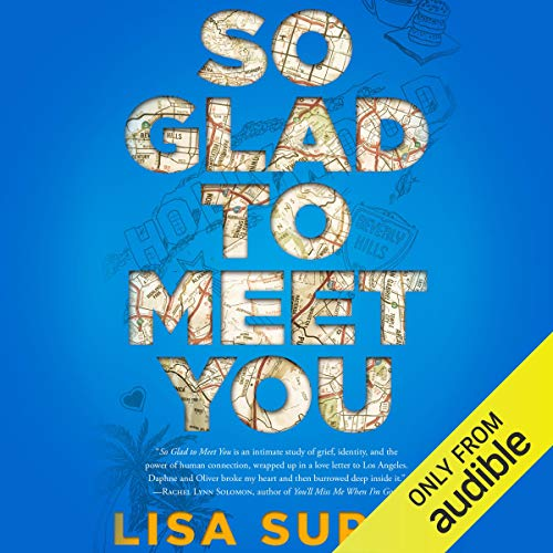 So Glad to Meet You                   By:                                                                                                                                 Lisa Super                               Narrated by:                                                                                                                                 Michael Crouch,                                                                                        Caitlin Kelly                      Length: 8 hrs and 44 mins     Not rated yet     Overall 0.0