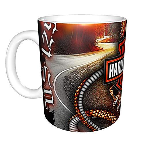 Taza de café de cerámica Harley Davidson, regalo divertido y novedoso de...