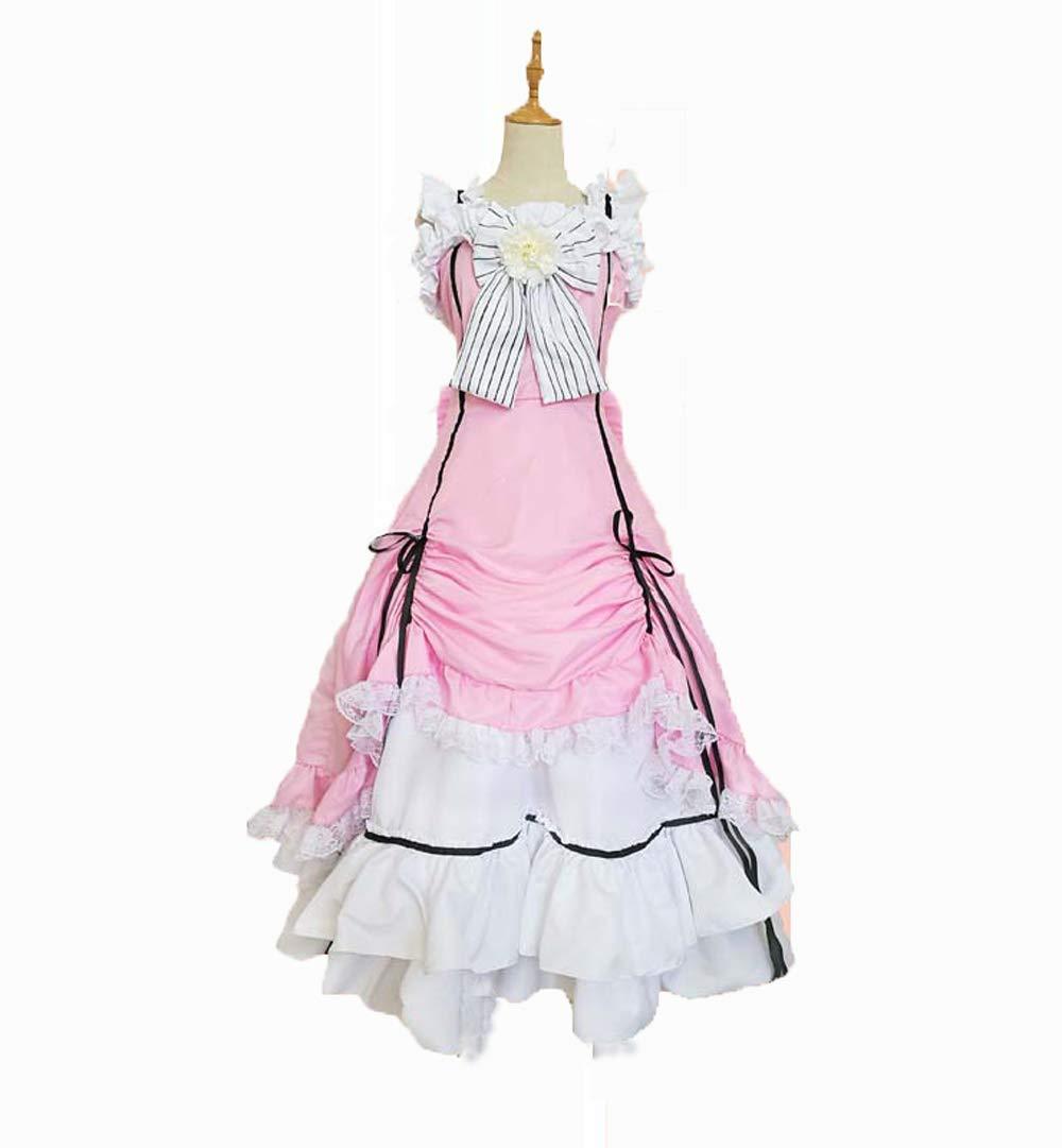 Black Butler kuroshitsuji Ciel Cos Phantomhive Cosplay party Costume