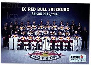 (CI) EC Red Bull Salzburg Hockey Card 2015-16 Erste Bank Eishockey Liga EBEL (base) 201 EC Red Bull Salzburg