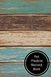 Pet Medical Record Book: Pet Log Book