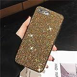Haodong Coque de téléphone Bling Glitter Diamant pour Xiaomi Redmi Note 8 7 Pro Couverture pour...