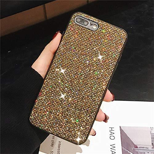 Haodong Diamond Glitter Bling Phone Case para xiaomi redmi Note 8 7 Pro Cubierta para xiaomi mi 8 SE Lite 5X 6X A1 A2 Mix 2S Mix 3 (2 Piezas, Color Opcional)-para redmi NOTE7 Pro_4