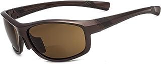 Eyekepper polycarbonate polarisee Bifocal Sport lunettes de soleil pour homme femme baseball course peche condute golf +1.00