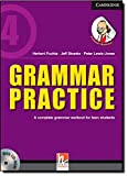 Grammar Practice Level 4 Paperback with CD-ROM: A Complete Grammar Workout for Teen Students - Herbert Puchta