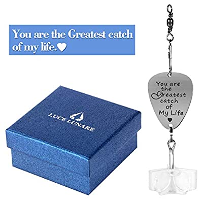 Joinfun Fishing Lure Stainless Steel Lure with A Gift Box Valentines Gifts for Boyfriend Father Husband from Joinfun
