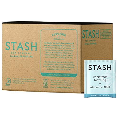 Stash Christmas Morning Matin de Noel - Black Tea - The Noir - 100 count (Packaging May Vary)