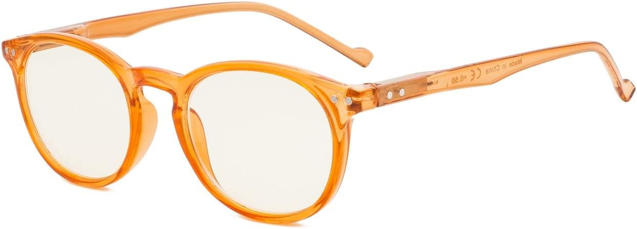 Eyekepper Retro Oval Round UV Anti-Re Reading Recommended Miami Mall Protection Glasses