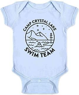 Camp Crystal Lake Swim Team Halloween Costume Infant Baby Boy Girl Bodysuit