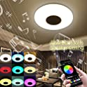 Suiki 48W Music Ceiling Light with Bluetooth Speaker