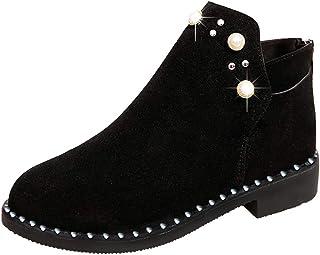 comprar comparacion Beladla Botas De Mujer Zapatos De Mujer Botines Navidad Boot De Gamuza Zapatos De OtoñO E Invierno Botines Botas De Zapatos