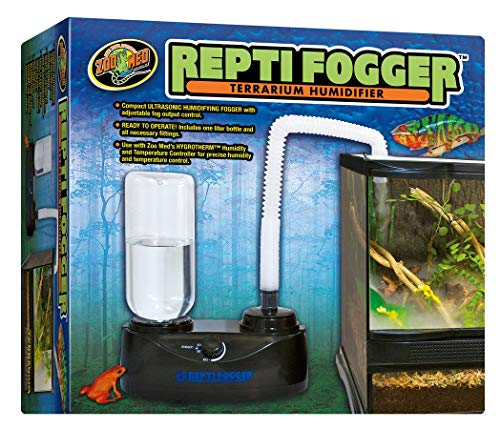 DBDPet Reptifogger - Terrarium Humidifier - Includes Attached 5 Point Pro-Tip Guide