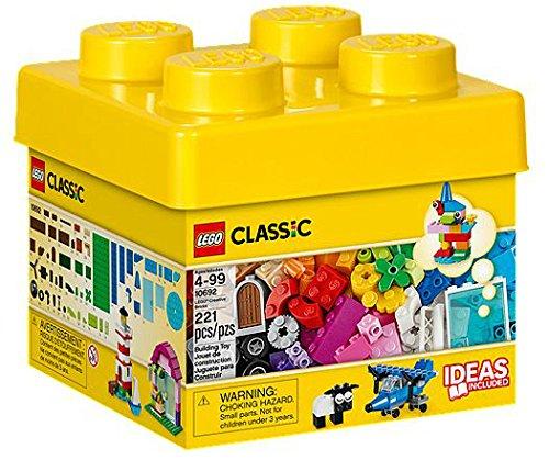 LEGO Classic Creative Bricks Chica 221pieza(s) Juego de construcción - Juegos de construcción, 4 año(s), 221 Pieza(s), Chica, 99 año(s), Clásico
