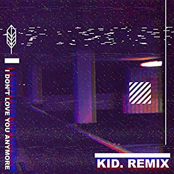 I don't love you anymore (Kid. Remix)