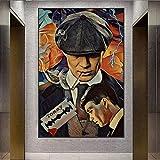 wZUN Retrato Arte de Pared Carteles e Impresiones Pintura Abstracta Obras Lienzo Cuadros de Arte 60X90 Sin Marco