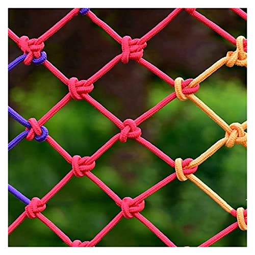 Jacquelyn Decorative Hanging Ornaments Safety Stairs Rail Protective Net Baby Playards Climbing Rope Home Decor Accents Wall Pediments (Size : 3X3M(10X10FT))