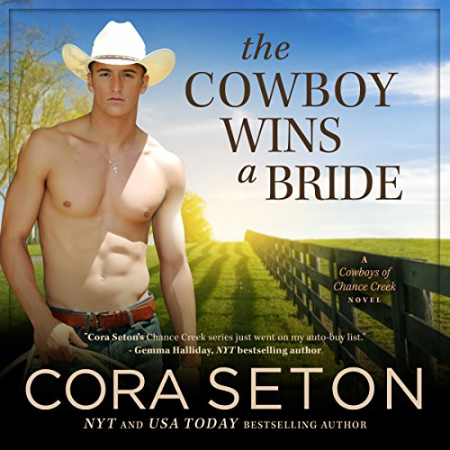 The Cowboy Wins a Bride audiobook cover art