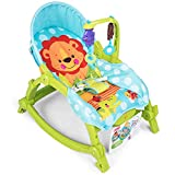 Rabbfay Balançoire et siège pour bébé, Bascule pour bébé, Fauteuil à Bascule léger et Confortable, siège Pliant