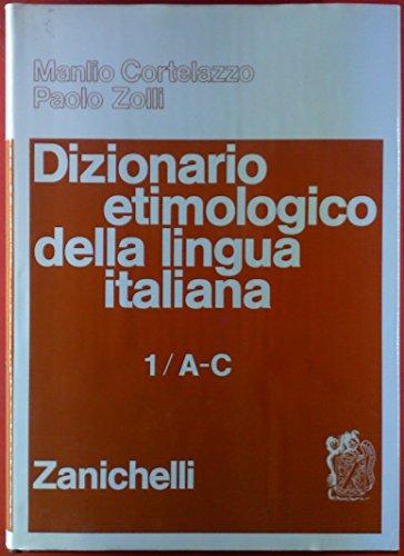 Dizionario etimologico della lingua italiana (5 volumi)