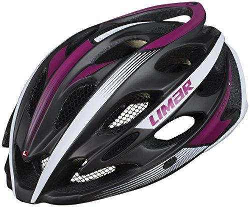 Limar Unisex– Erwachsene Ultralight+ Helme, schwarz/lila, One Size