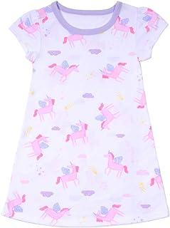 Girls Princess Nightgown Pajama Soft Nightdress Sleepwear Nightdress for Kids