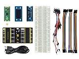 Ingcool Raspberry Pi Pico Evaluación Kit (Tipo B) Incluye Placa Raspberry Pi Pico RP2040 con Header Pre-Soldado+1.14 Pulgadas Color LCD+Sensor 10-DOF IMU+Expansor Dual GPIO+Placa de Pruebas