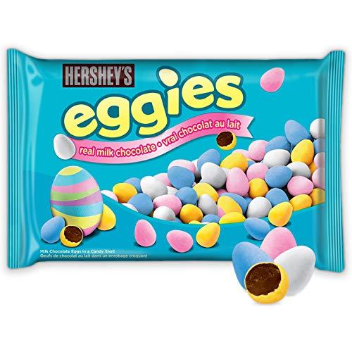 HERSHEY'S EGGIES Easter Chocolate Candy, 400 Gram