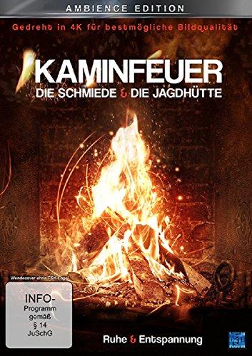 Kaminfeuer gedreht in 4K für bestmögliche Bildqualität - Die Schmiede & Die Jagdhütte