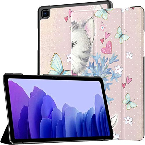 Funny Kitten Galaxy Tab A Cases Galaxy Tab A7 10.4 Inch Samsung Tablet Case Samsung Galaxy Tab A Case With Auto Wake/sleep Fit Cases For Tablets For Galaxy Tab A7 Sm-t500/t505/t507