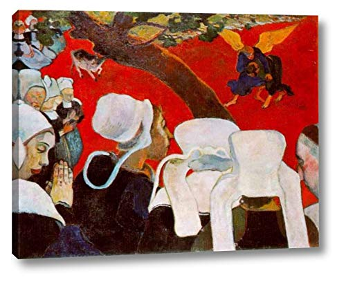 Vision After The Sermon, Jacob Wrestling with The Angel by Paul Gauguin - 13