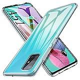 iBetter Morbido Slim TPU per Samsung Galaxy A51 Cover,Antiurto Trasparente Silicone Custodia,...